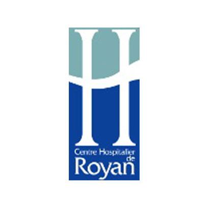 Logo du CH de Royan