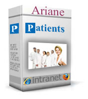 logiciel gestion d'archives  clinique hopitaux Patients